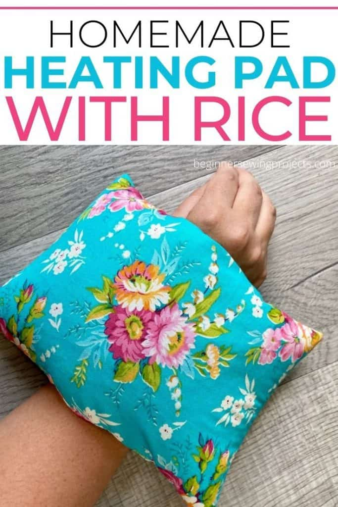 Homemade Heating Pad Easy Sewing Project