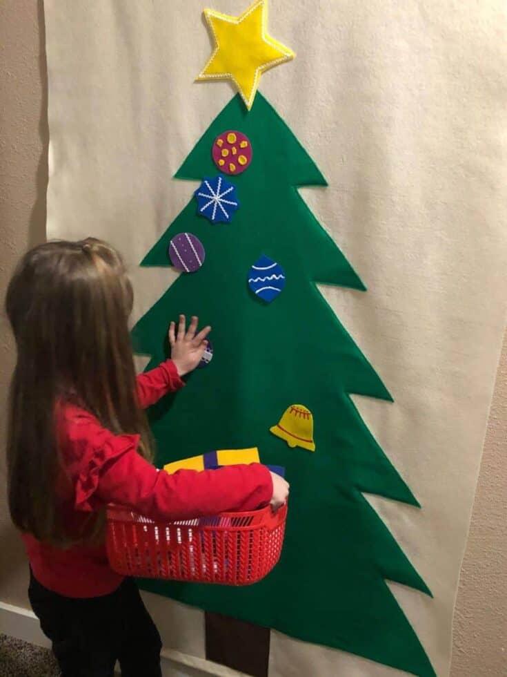 DIY-Felt-Christmas-Tree-for-Kids-Craft