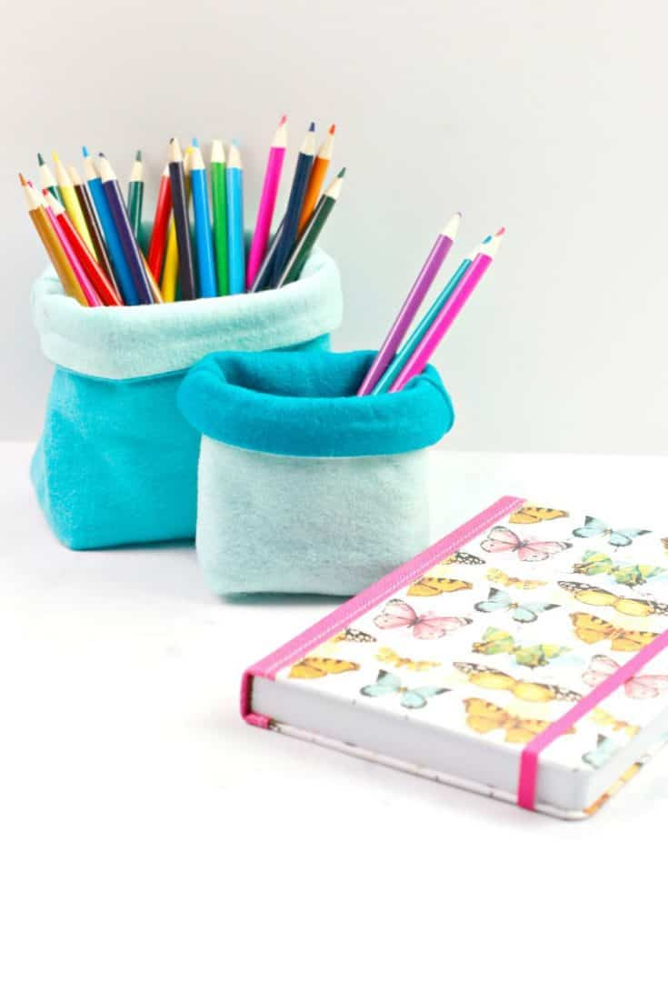 Quick to Sew Pencil Holder