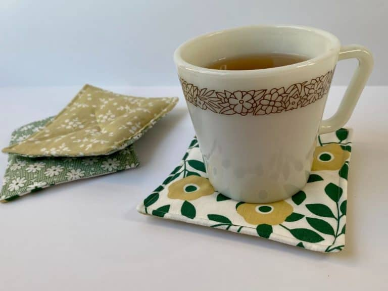 Scented Mug Rug – Beginner Sewing Projects