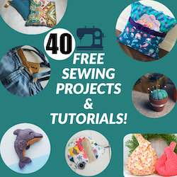 40 Free Sewing Projects