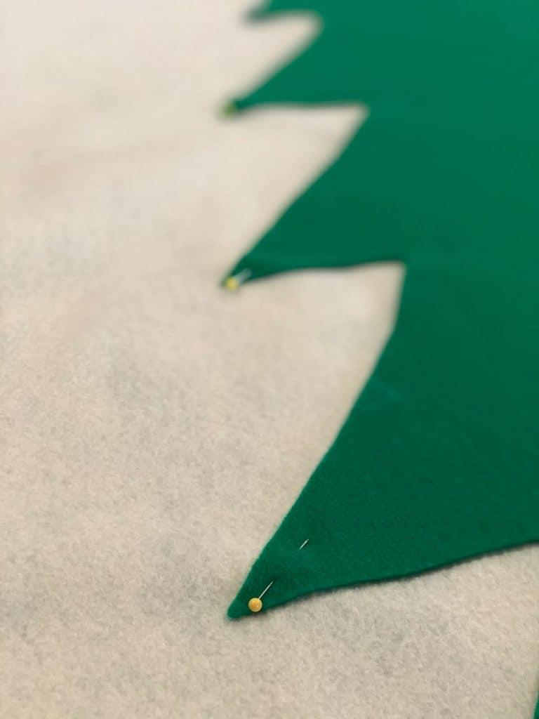 pin down edges