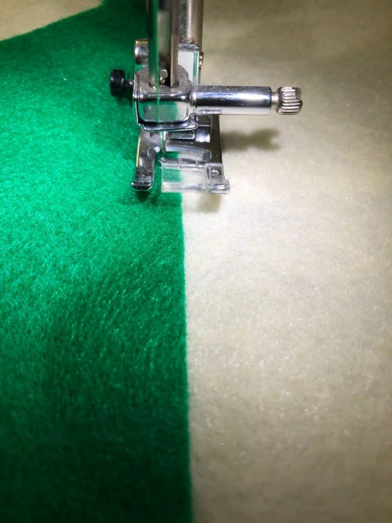 sewing casing for dowel rod