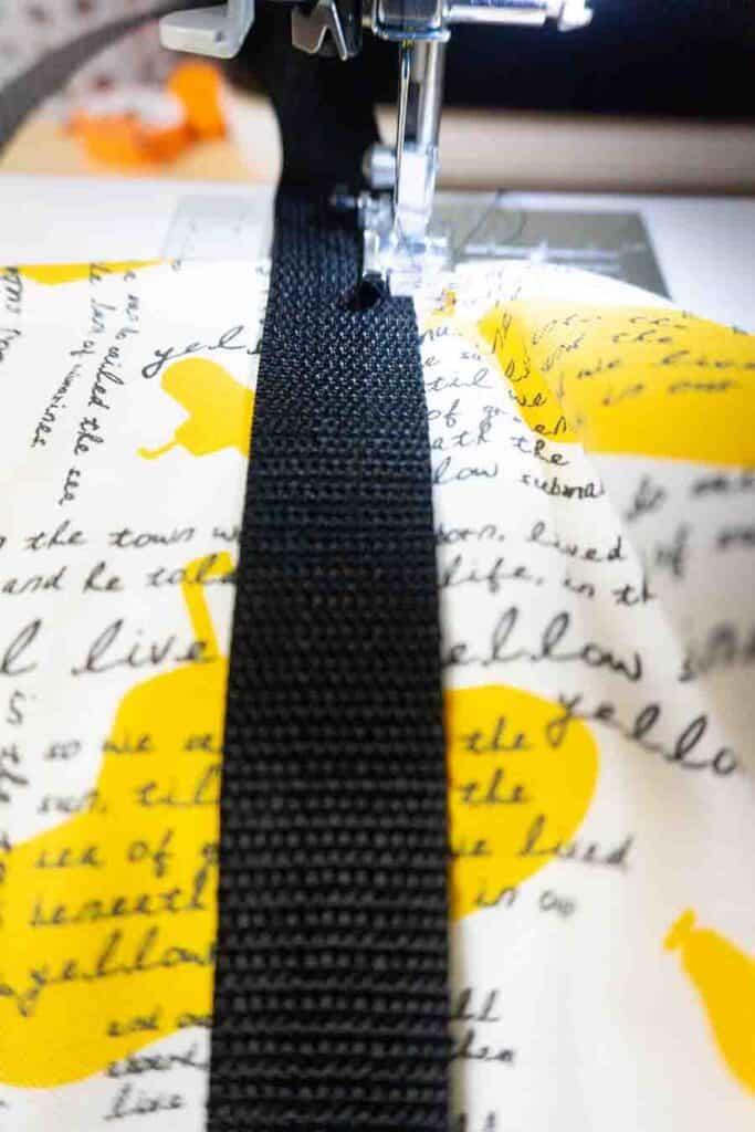 stitch down belting