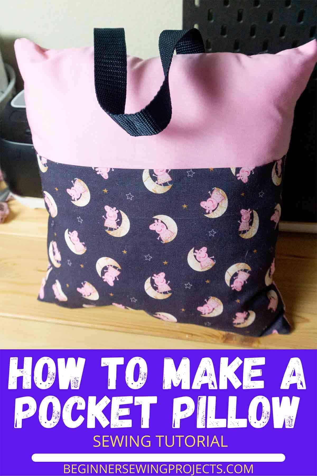 How To Make A Pocket Pillow