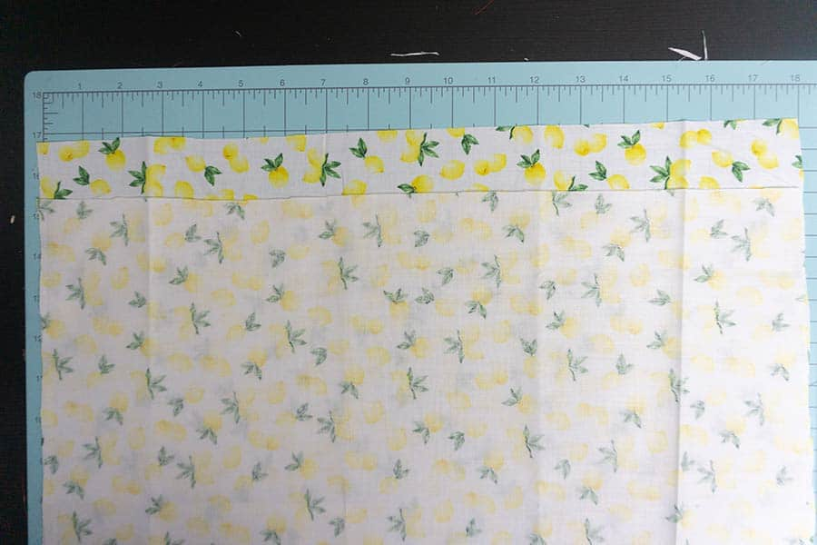 Cut Fabric for throw pillow