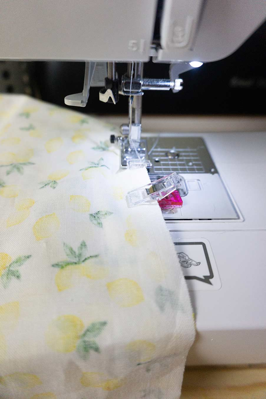 Sew All Sides of throw pillow