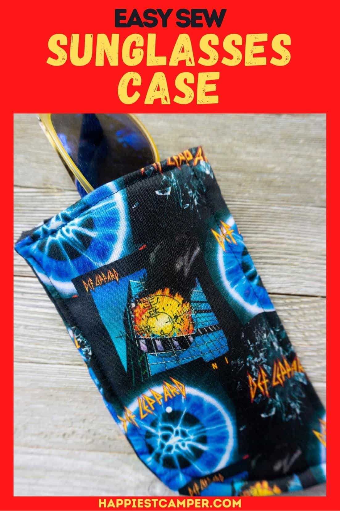 Easy Sew Sunglasses Case