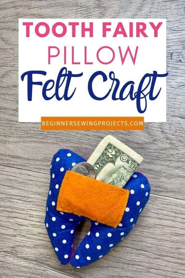 Tooth Fairy Pillow Felt Craft