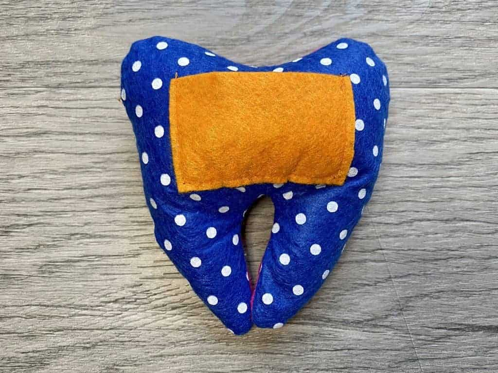 complete tooth fairy pillow