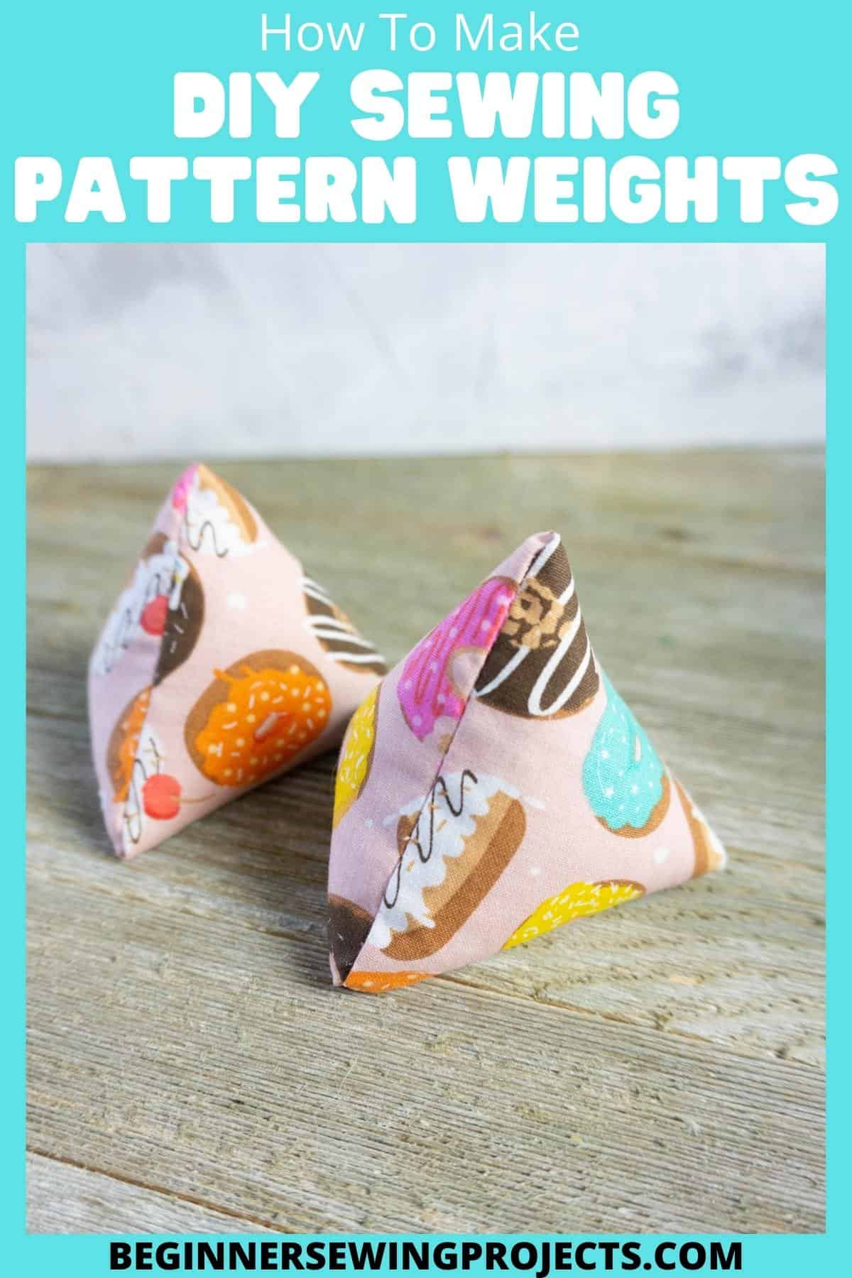 How To Make DIY Sewing Pattern Weights