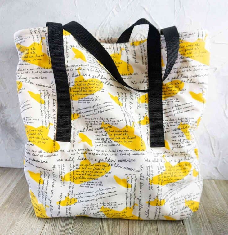 How To Make A Tote Bag - Easy Sewing Project