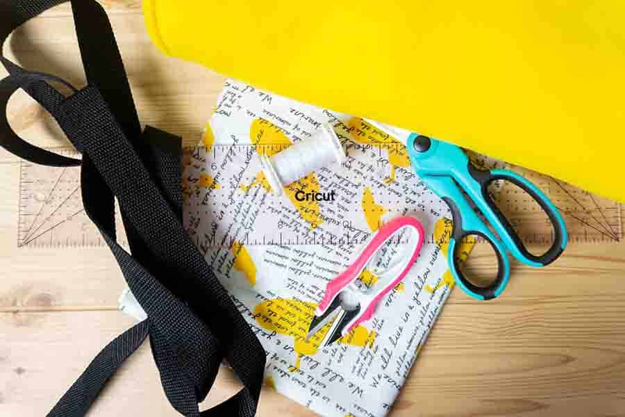 Supplies for tote bag