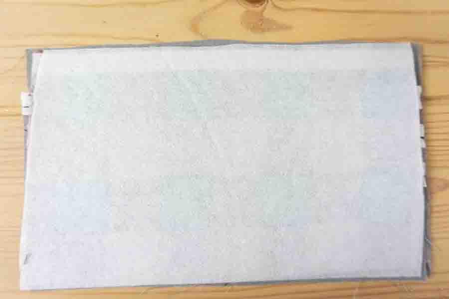 Layer fabrics and add interfacing