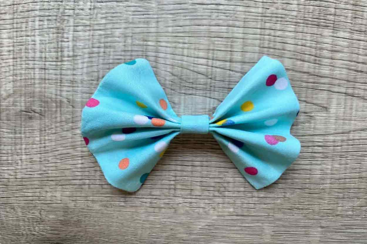 Fabric Bow top Photo