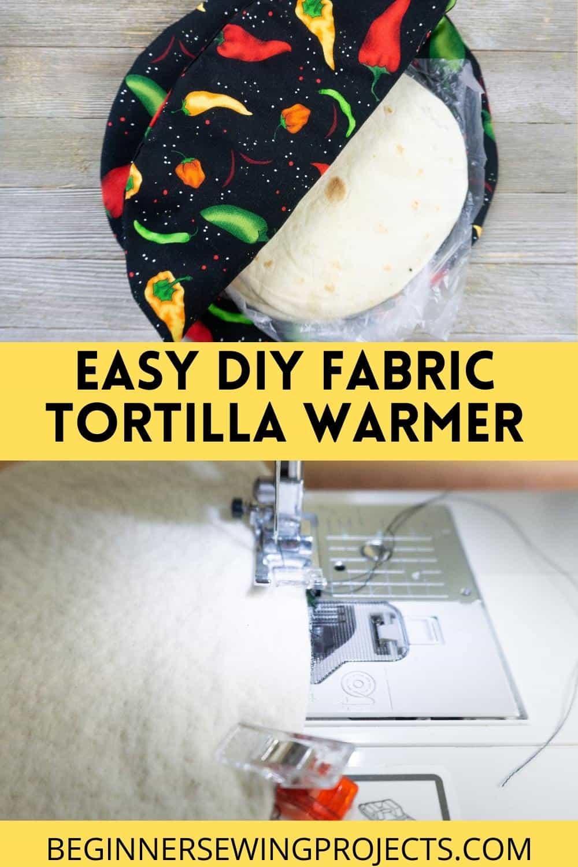 Easy DIY Fabric Tortilla Warmer
