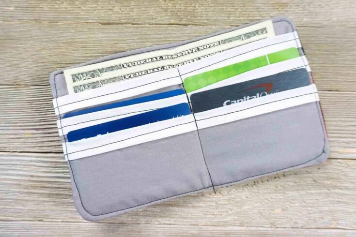 How To Make A Wallet Out Of Fabric