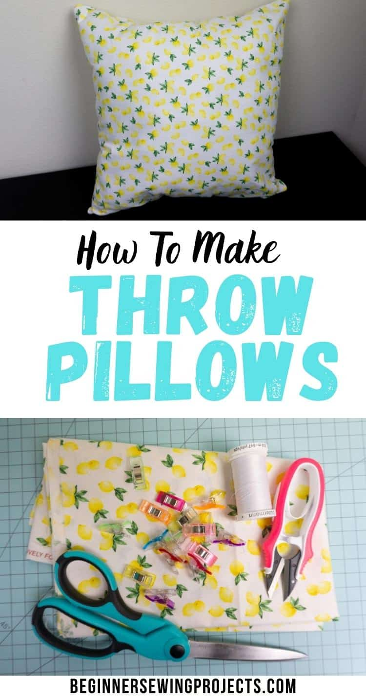 How to Make Throw Pillows