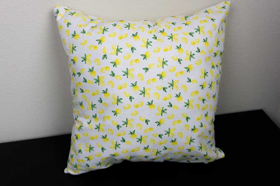 Lemon Throw Pillow Post Photo