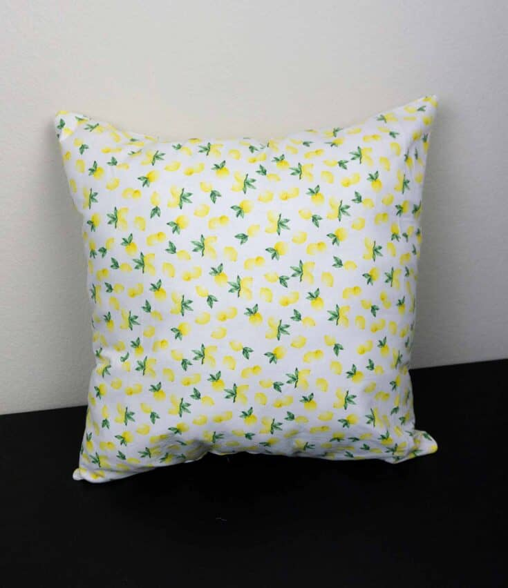 How To Make A Throw Pillow The Easy Way Create Card