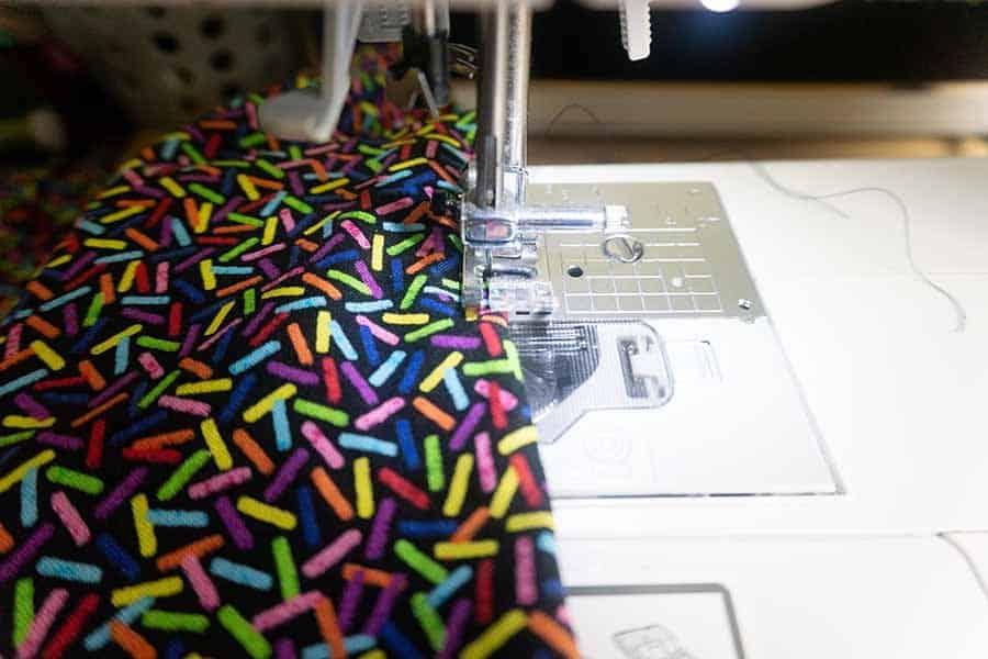 Stitch hole shut