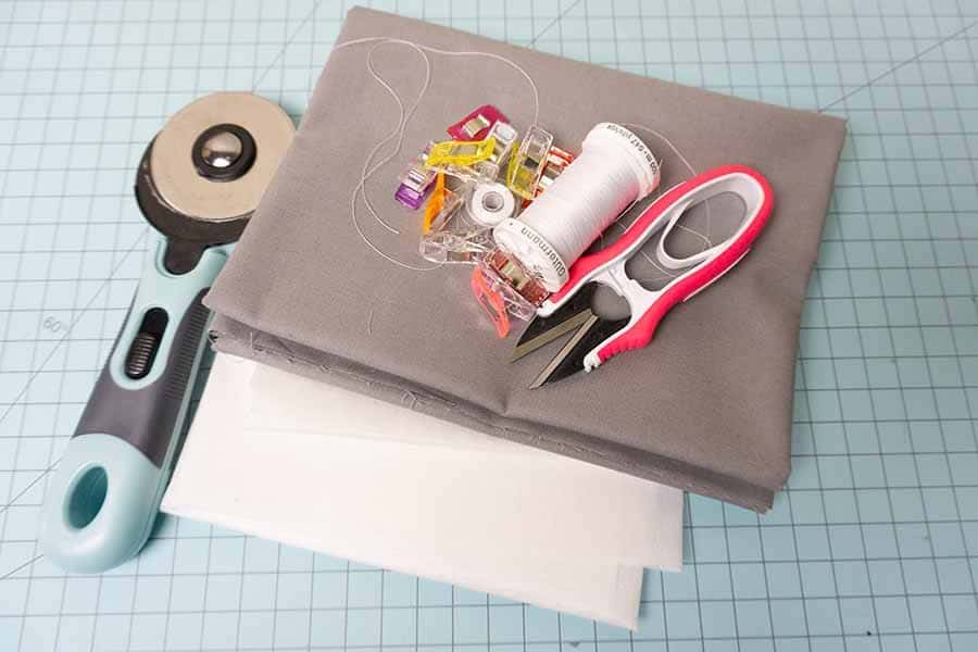 Supplies for bedside organizer
