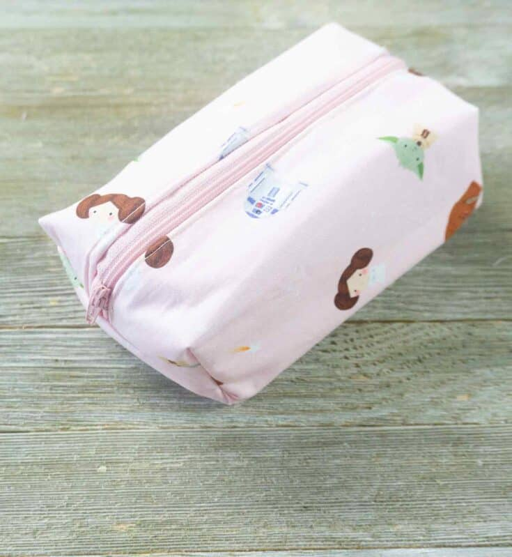 Boxy Cosmetic Pouch Create Card