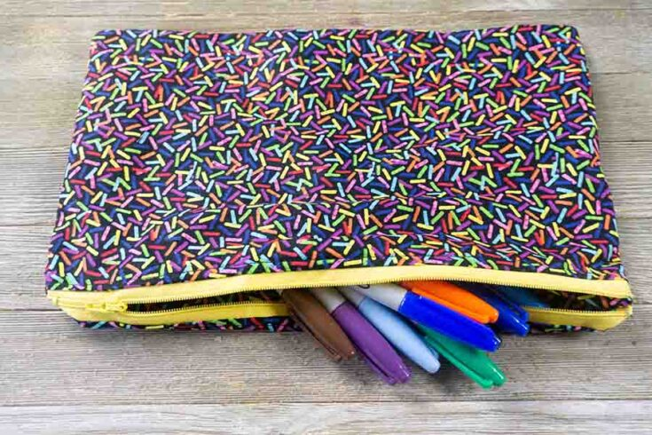 How To Make A Zipper Pouch The Easy Way