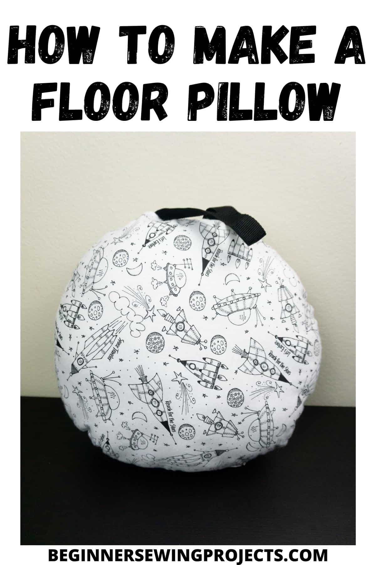 How To Make A Floor Pillow