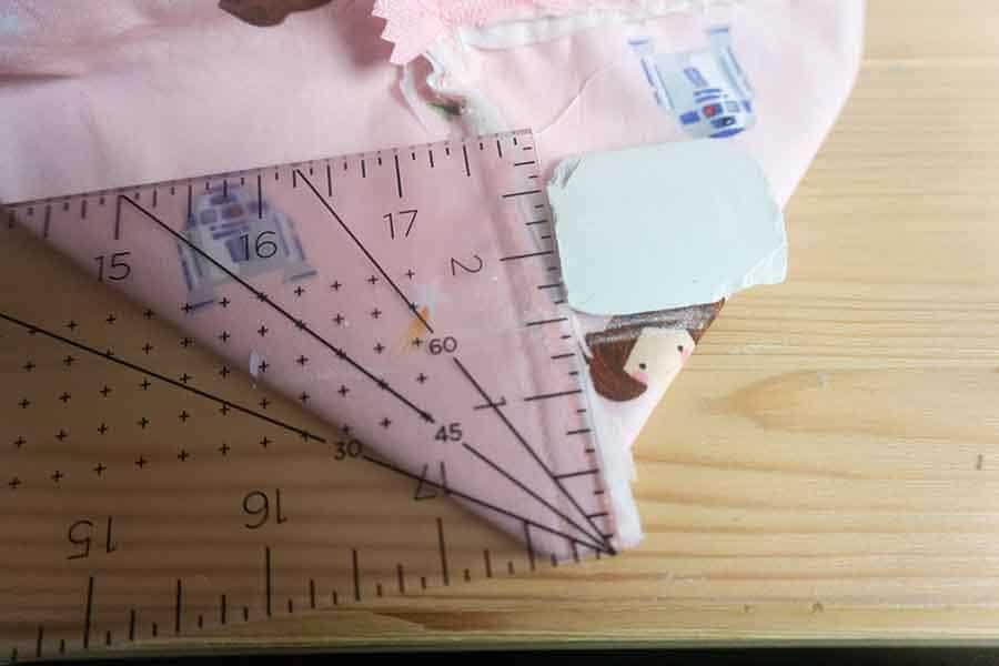 Measure for corners