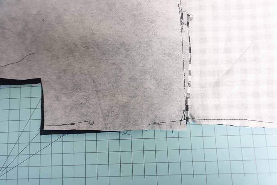 Stitch around the edges