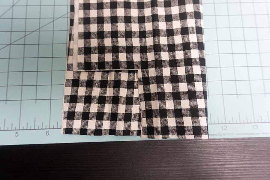 Cut square on bottom