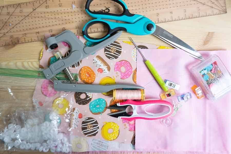 clutch purse supplies