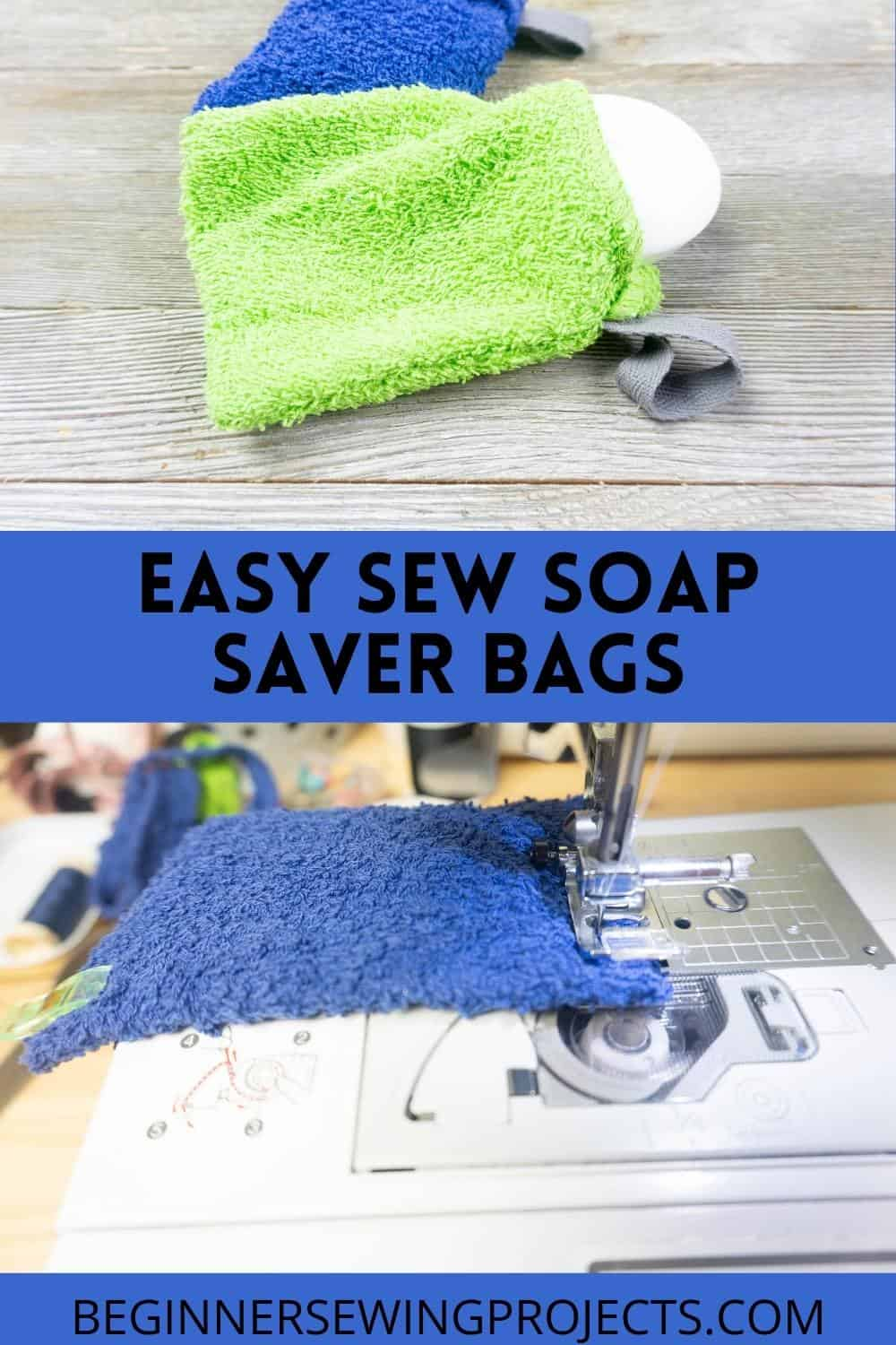 Easy Sew Soap Saver Bags
