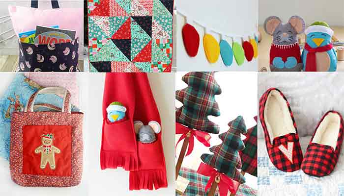 Easy Sew Christmas Gifts Featured Image