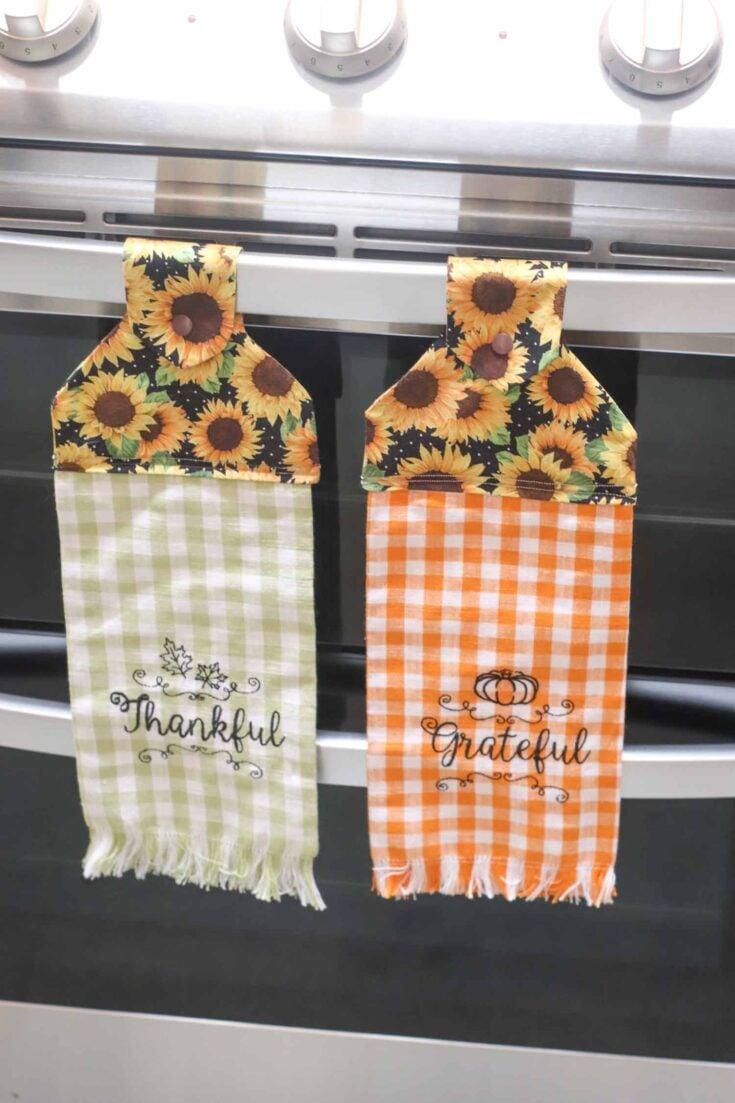 Hanging Kitchen Towel Create Card