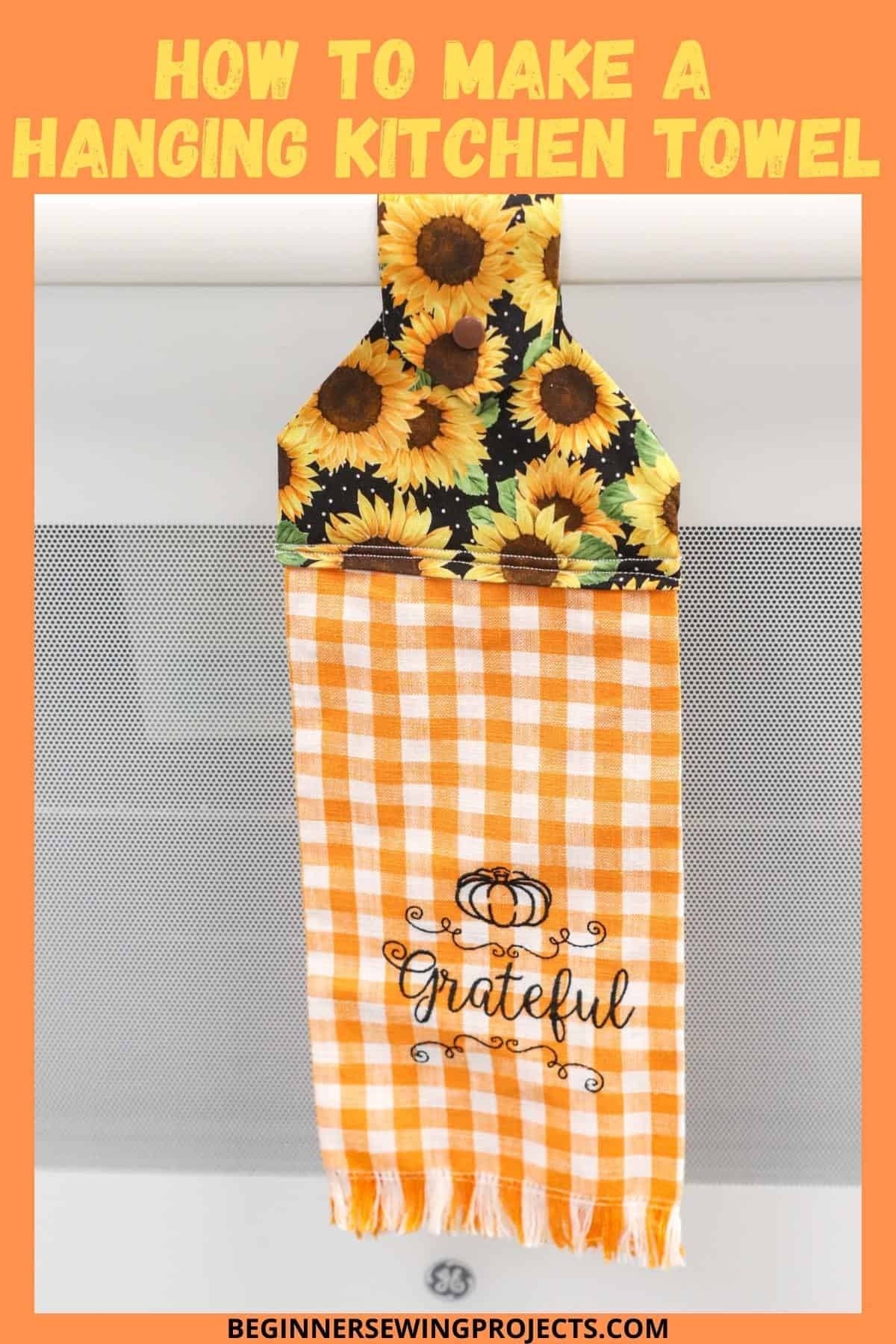 How To Make A Hanging Kitchen Towel
